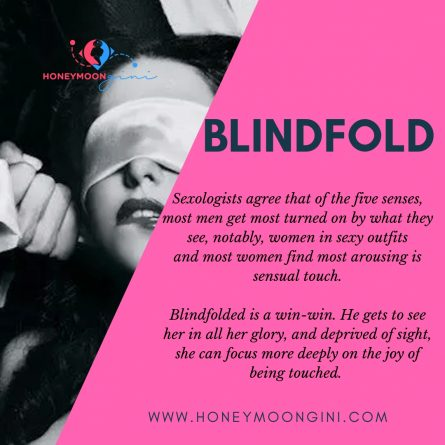blindfold to better sex