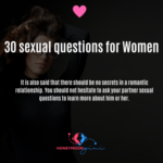 30 sexual questions for women