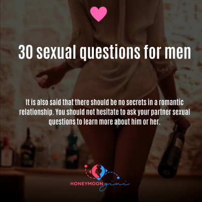 Sexual question for men