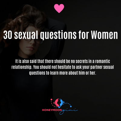 sexual questions for women